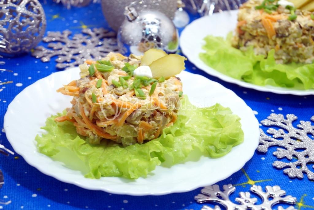 Фото новогодние салаты способы приготовления